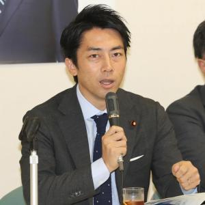 【批判殺到】内閣支持率はアップも小泉進次郎は袋叩き!!!!!!!!!!!