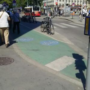 還暦おばさんヨーロッパぶらぶら旅ーウイーンには自転車専用道あり