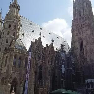 (*´∀`)素晴らしいミサーウイーン シュテファン大聖堂♪