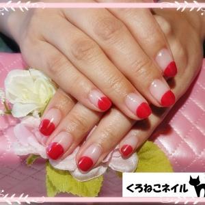 丸フレンチ♡5月のキャンペーンネイル!