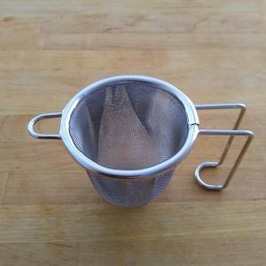 【買い物】一人分に便利な深型茶こし
