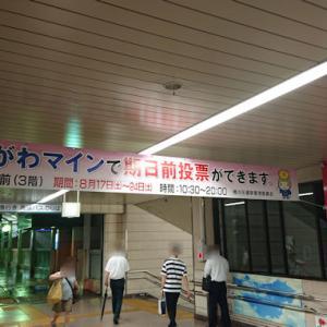 【桶川】無関心はださいたま!! 8/25埼玉県知事選挙 期日前投票はおけがわマインでも