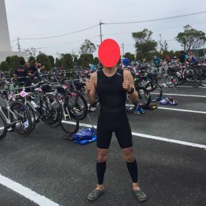 結果『蒲郡オレンジトライアスロン 6.23』レース前→swim