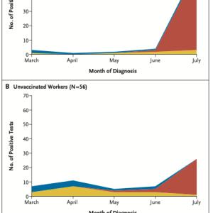 デルタ株流行下でのコロナワクチンの有効性