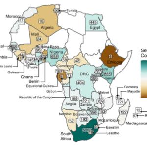 アフリカでの新型コロナウイルスのゲノムサーベイランス
