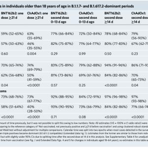 デルタ株流入の影響 in 英国 − ワクチンの有効性等について −