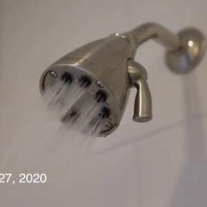 a problem in the shower