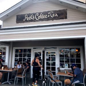 ロスで週3で通うお気に入りのコーヒー屋さん♡