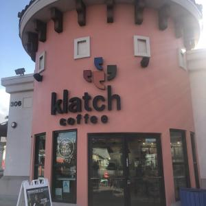 ロスで超ハイテクコーヒーマシーンのカフェ♡Klatch Coffee!