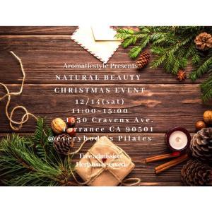 ロスで注目!?のクリスマスのナチュラルビューティーイベント♡