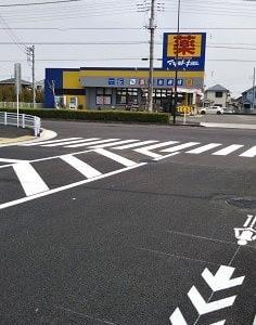 昭島市で新道が部分開通(赤帽さんからの頂き物)