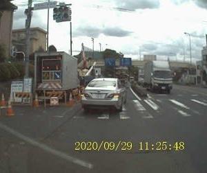 2日連続で車線規制:国道16号大和田小学校前