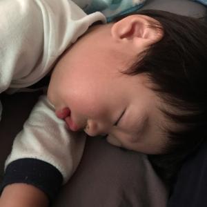 1歳6ヶ月の日に風邪😵
