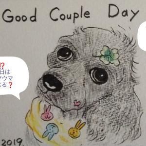 「いい夫婦の日」だって⁉️(* >ω<)