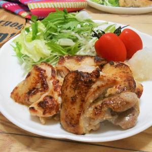 簡単!!鶏もも肉の塩麴漬け焼きの作り方/レシピ