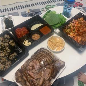 韓国料理 족발(チョッパル)にハマってます