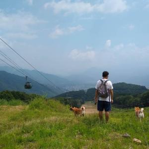 犬連れ夏の白馬旅行―2日目、3日目