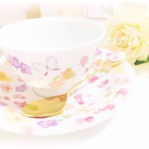 春を先取り♡お花いっぱいのティーカップ