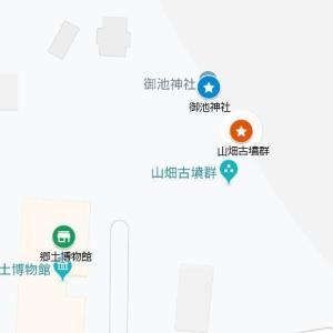瓢箪山稲荷神社の参道②山畑古墳群(東大阪市・上四条町)