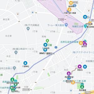 宇波神社の参道⑱河内街道・箕輪(東大阪市・箕輪~中野)