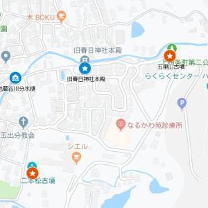 瓢箪山稲荷神社の参道④旧春日神社(東大阪市・上四条町)