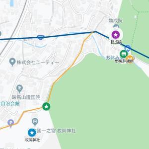 枚岡神社の参道⑰暗越奈良街道・東豊浦(東大阪市)