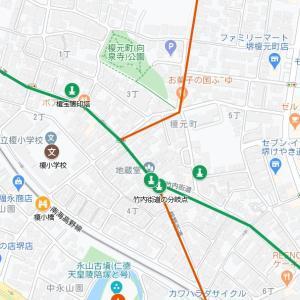 方違神社の参道⑳竹内街道・榎元町~向陵町(堺区)