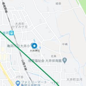 出雲大神宮の参道⑤大井神社(亀岡市・大井町・並河)