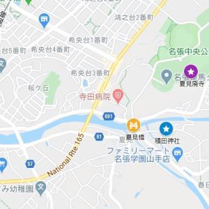 宇流冨志禰神社の参道②積田神社(名張市・夏見)