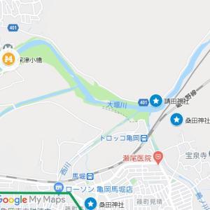 桑田神社の参道②桑田神社(亀岡市・篠町・馬掘)