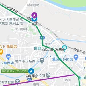 桑田神社の参道⑨伊達神社(亀岡市・余部町)