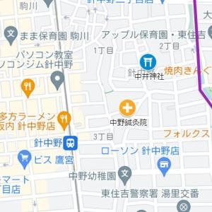 桑津天神社の参道⑤中井神社(東住吉区・針中野)