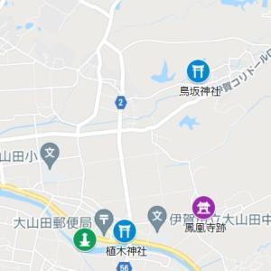 植木神社の参道②鳥坂神社(三重県・伊賀市・甲野)