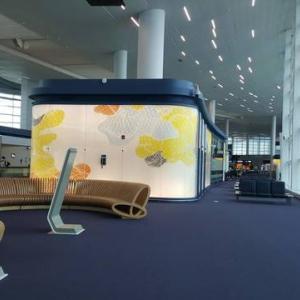 アメリカ行き(3)仁川空港と座席