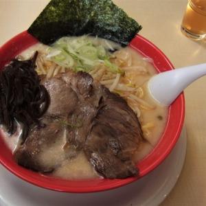 大阪村の元祖豚骨ラーメン