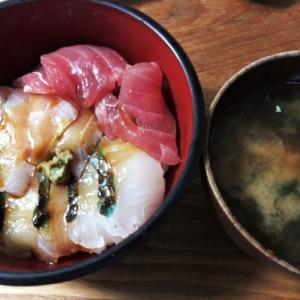 朝から海鮮丼を食ったじぇい
