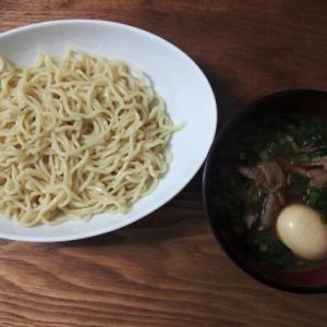 激安肉ニラ玉子つけ麺