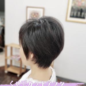 くせ毛の広がり