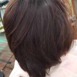 ペタンコ髪キュビズムカット
