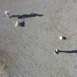 ドローンでロイヤルヒルスキー場上空を飛んでみた