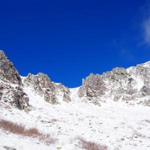 紅葉トレッキングのつもりが雪山登山になっちゃった⁉️