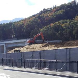中部横断自動車道の工事進捗状況について