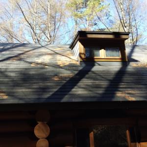 冬支度 屋根の掃除でおしまい