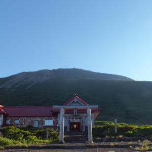 日本百名山『白山』2日目、御来光とエコーライン
