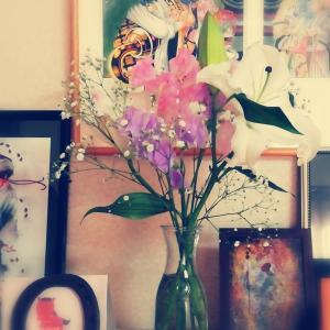 今日はお花買いでした!