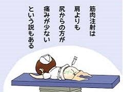 筋肉注射の思ひ出