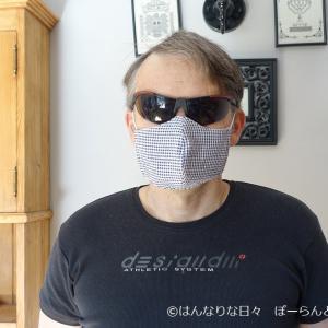 不器用大魔神、マスクを作る