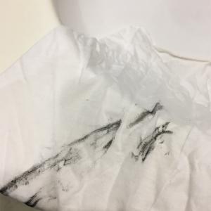 チェーンオイルの真っ黒な汚れが石鹸で落ちた話
