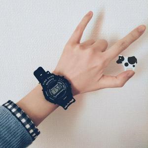 100均で腕時計を買いました