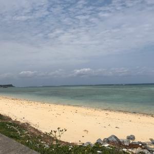 今帰仁のビーチ